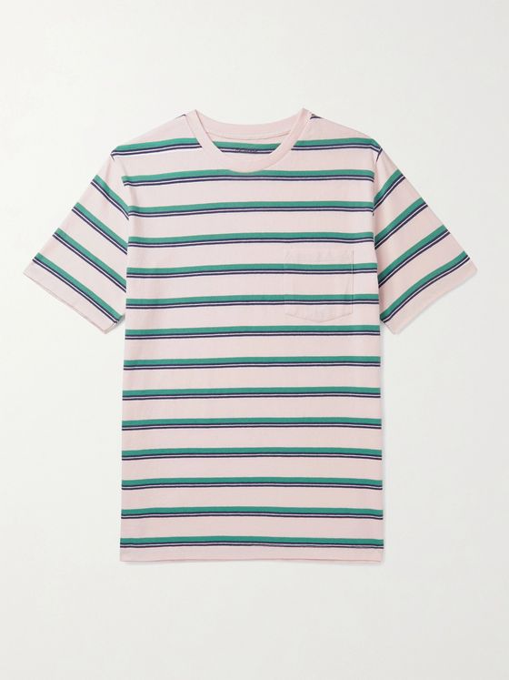 Bellerose Striped Cotton-Jersey T-Shirt