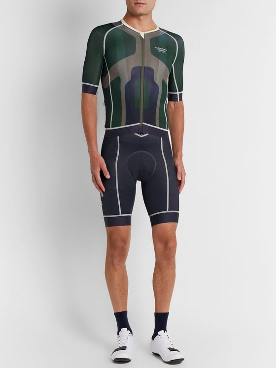 Pas Normal Studios Mechanism Limited Logo-Print Cycling Jersey