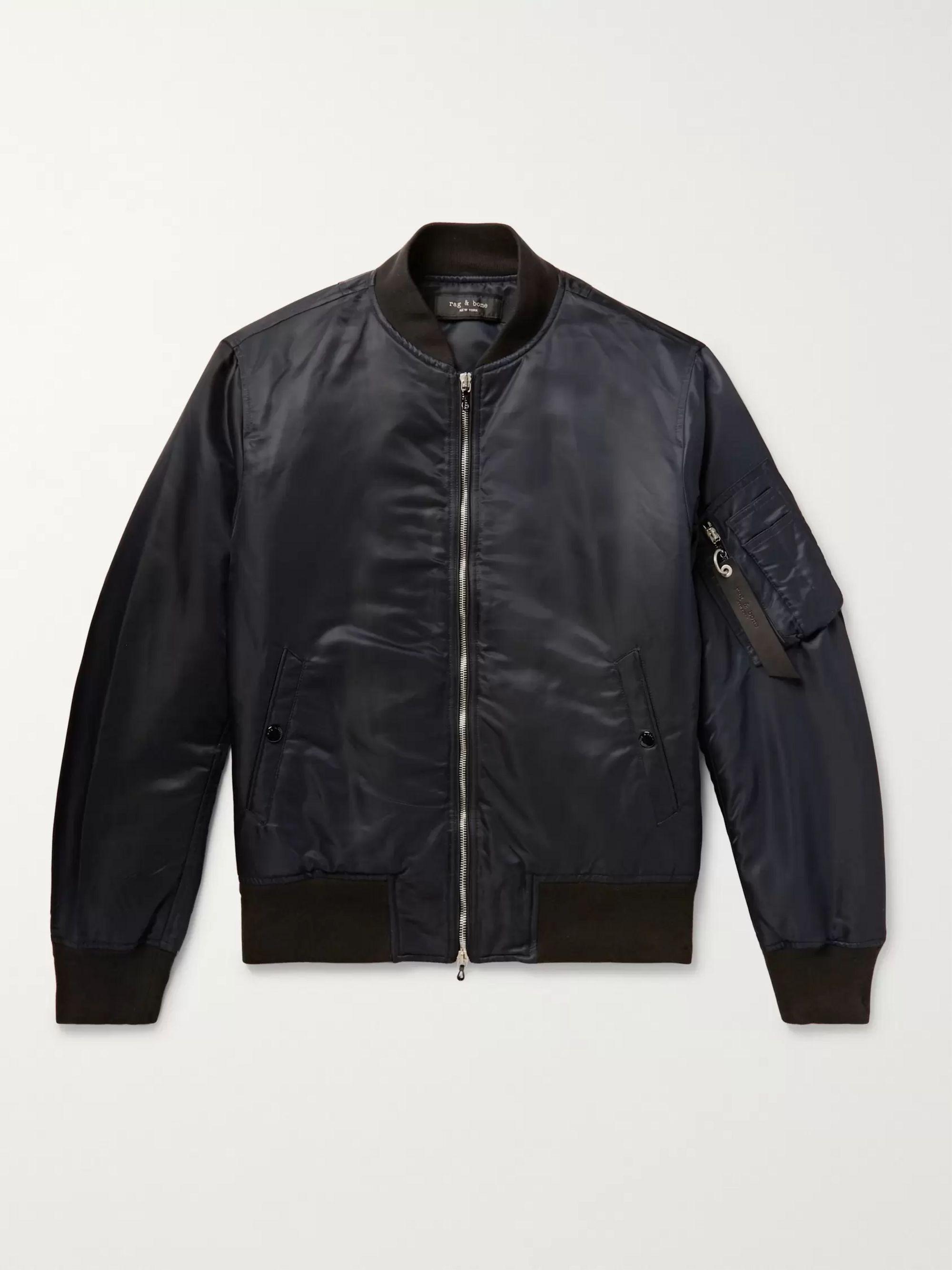 1cf3bd999 Manston Nylon Bomber Jacket