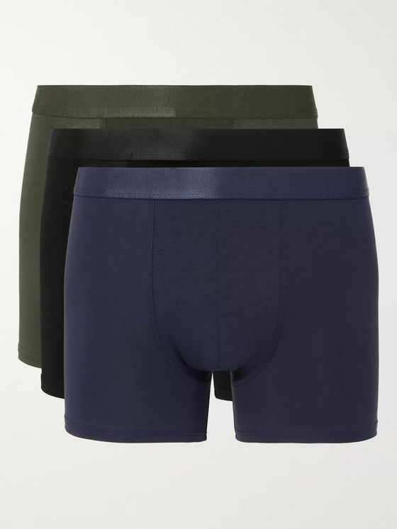CDLP Nine-Pack Stretch-Lyocell Boxer Briefs