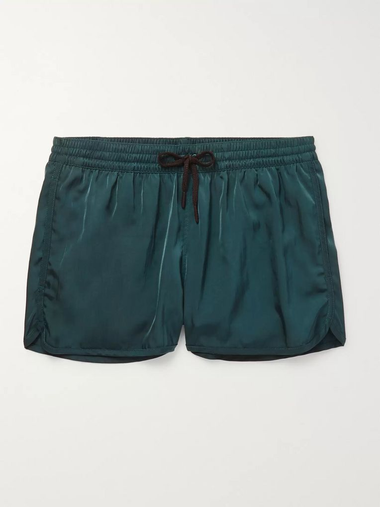 CDLP + Grand Hotel Tremezzo Piscina Short-Length Swim Shorts