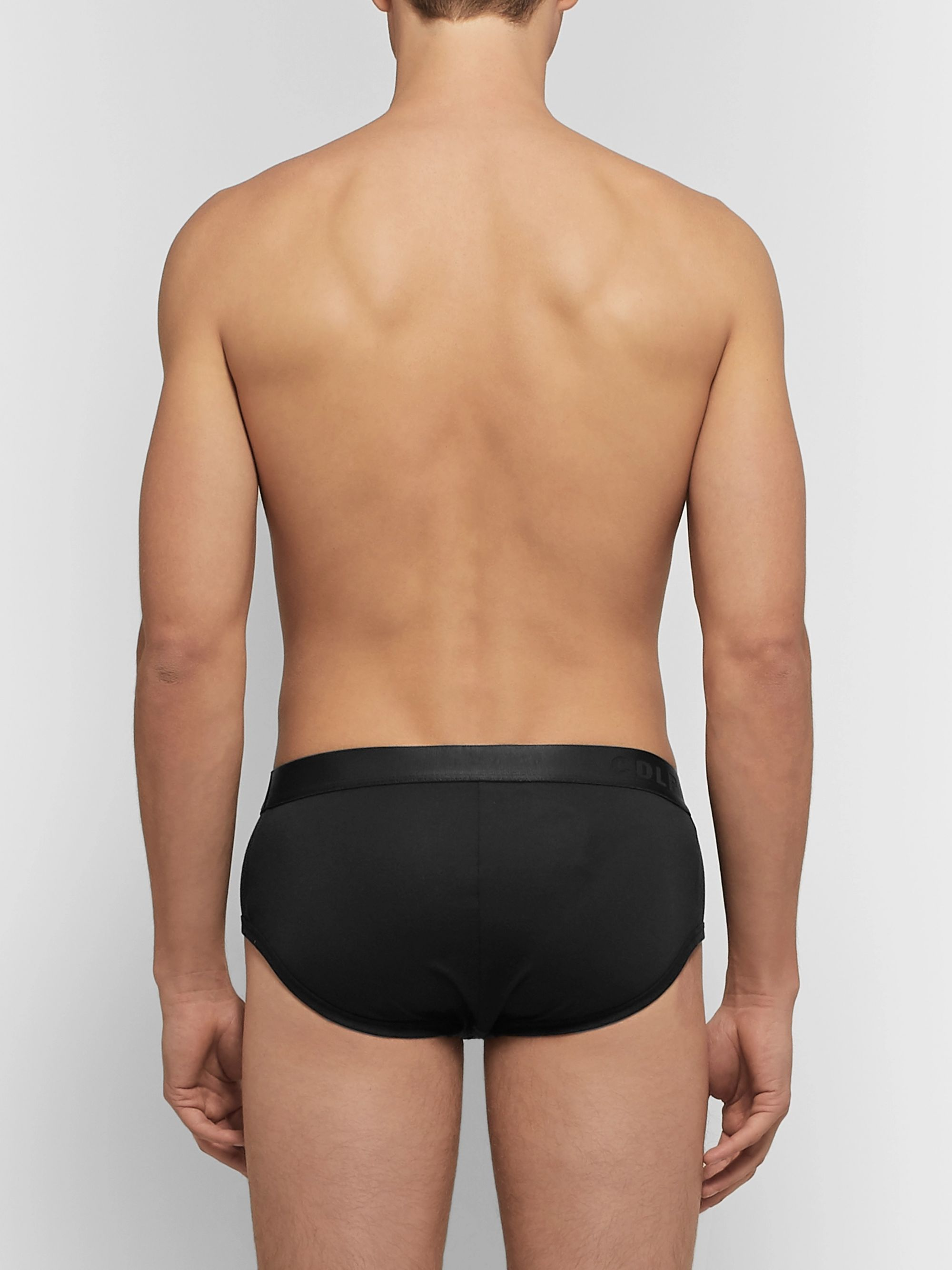 CDLP Three-Pack Stretch-Lyocell Briefs