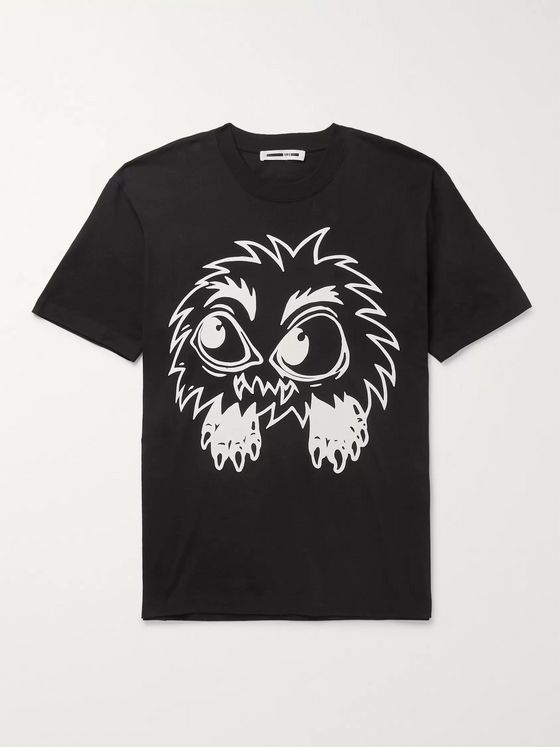 McQ Alexander McQueen Monster Rally Printed Cotton-Jersey T-Shirt
