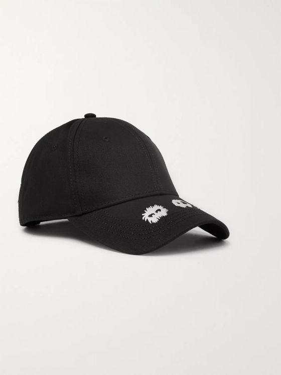 McQ Alexander McQueen Embroidered Cotton-Twill Baseball Cap