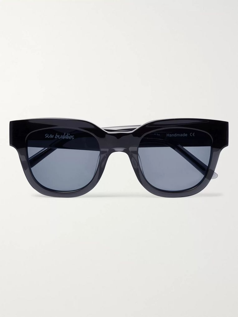 Sun Buddies Liv Square-Frame Acetate Sunglasses