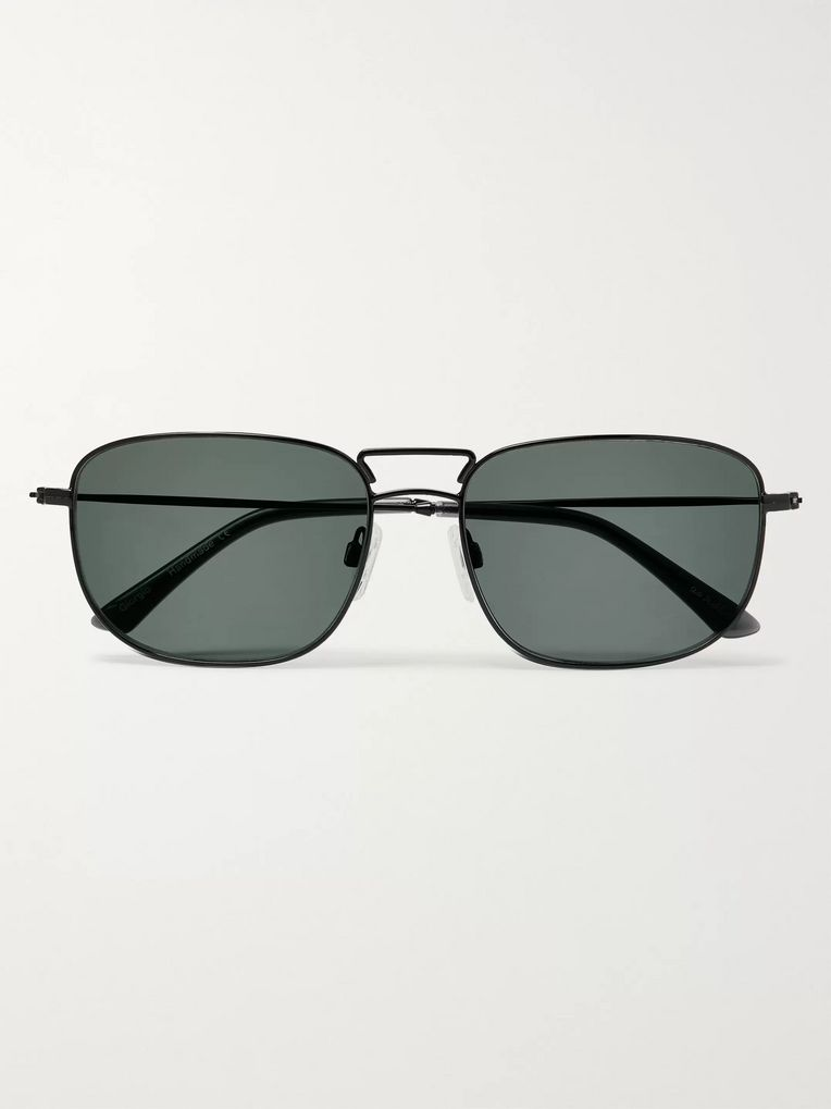 Sun Buddies Giorgio Square-Frame Stainless Steel Sunglasses