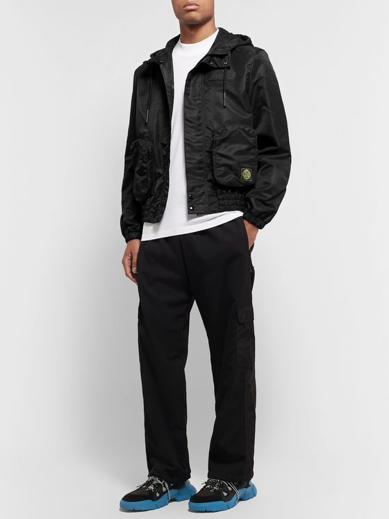McQ Alexander McQueen Logo-Appliquéd Nylon Hooded Jacket
