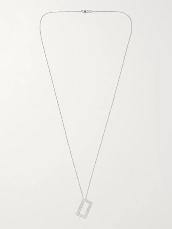 LE GRAMME 34/10ths Sterling Silver Necklace