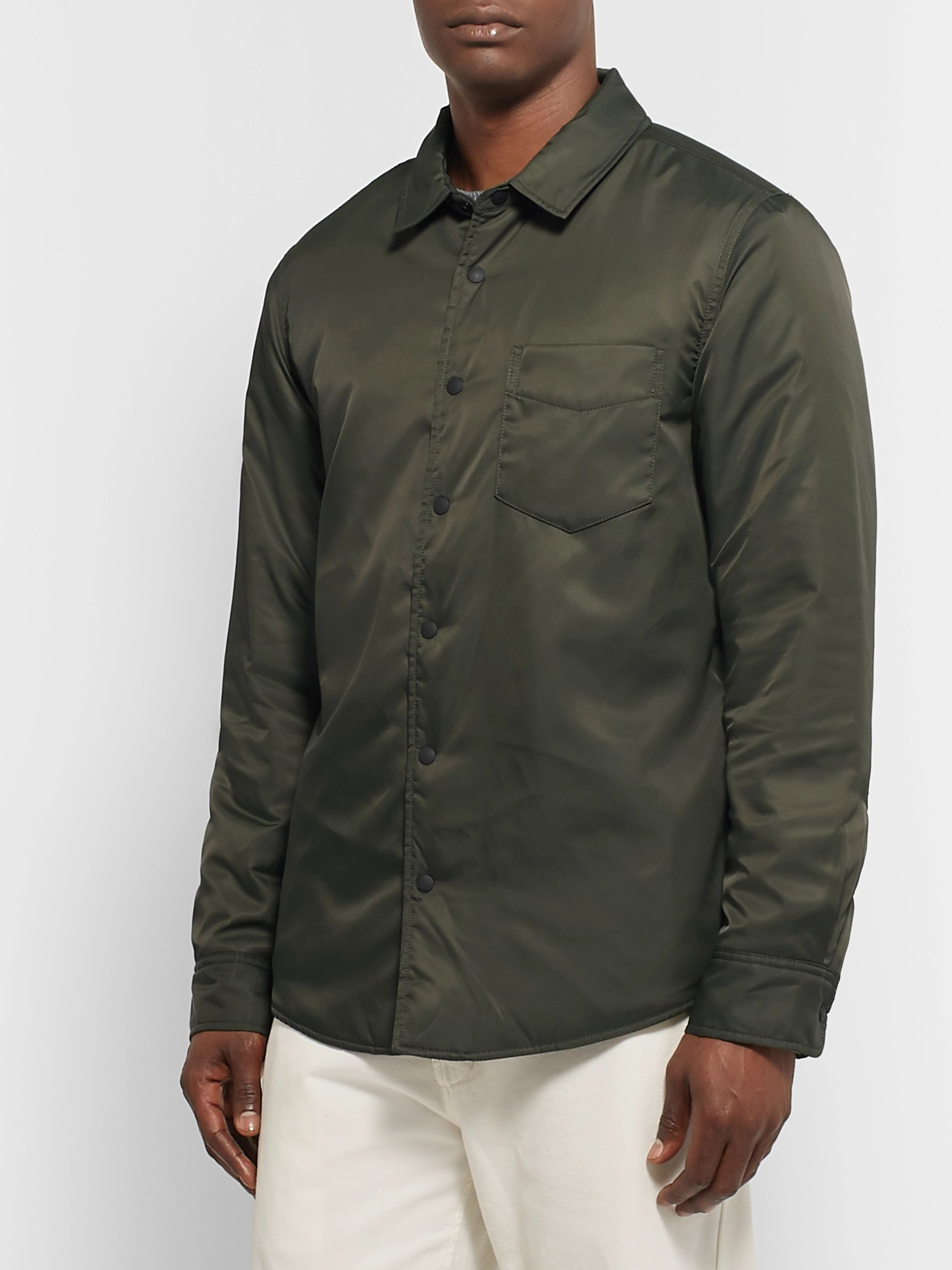 Outerknown Evolution ECONYL Nylon Shirt Jacket