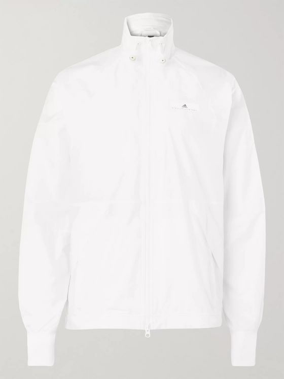Adidas Sport + Stella McCartney Mesh-Panelled Shell Track Jacket