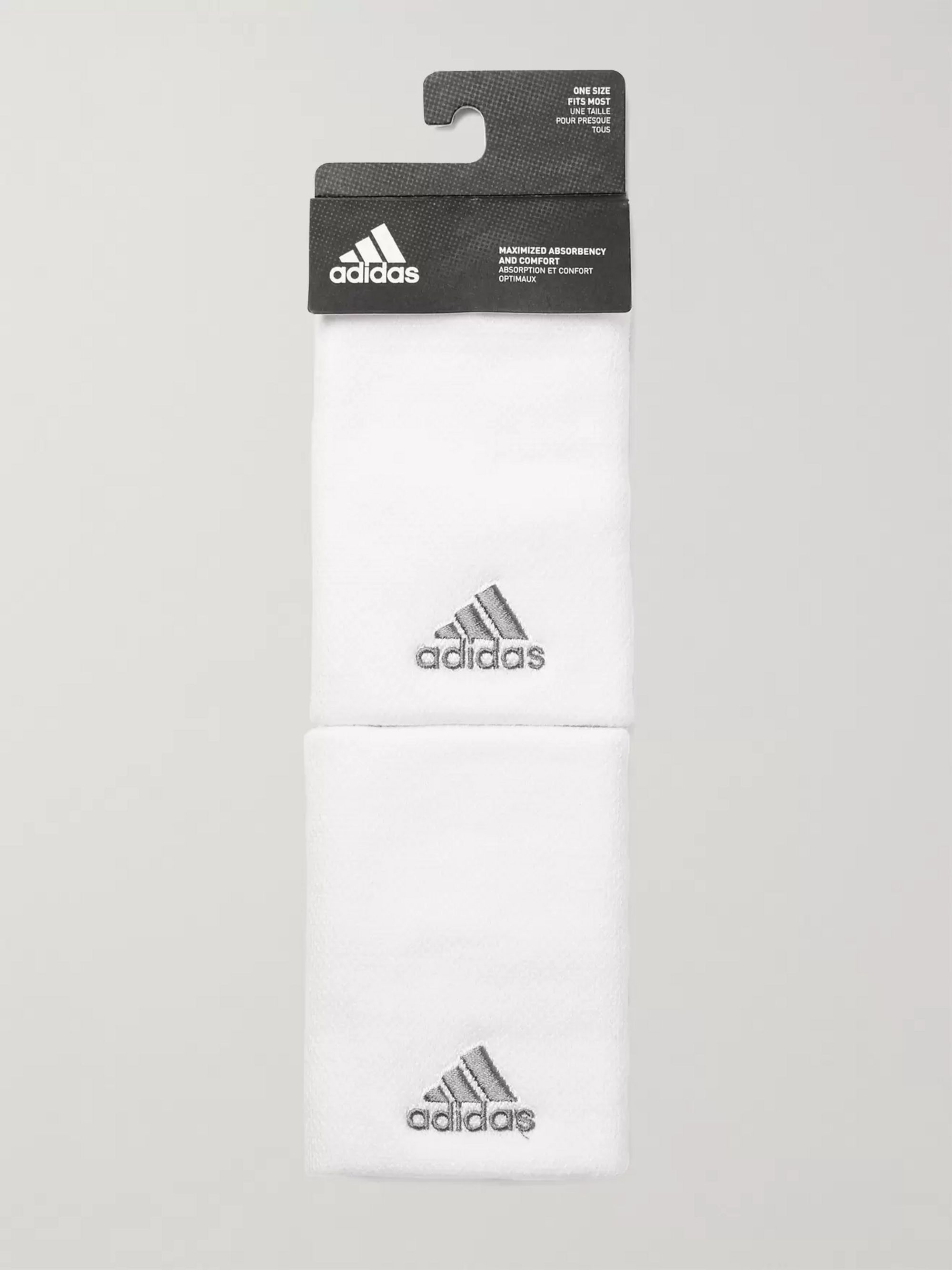 Adidas Sport Stretch-Piqué Tennis Wristbands