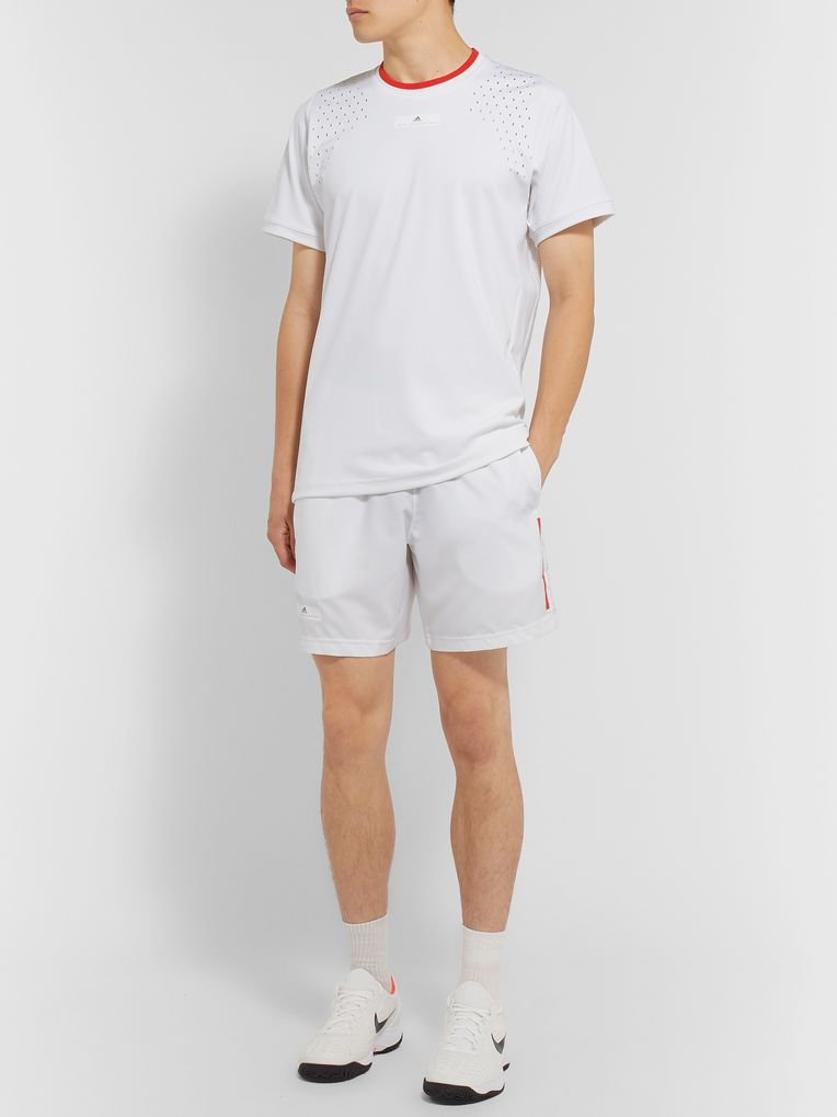 Adidas Sport + Stella McCartney Stretch-Jersey T-Shirt