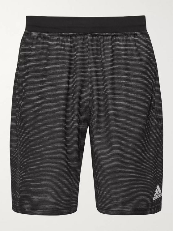 Adidas Sport 4KRFT Striped Climalite Shorts