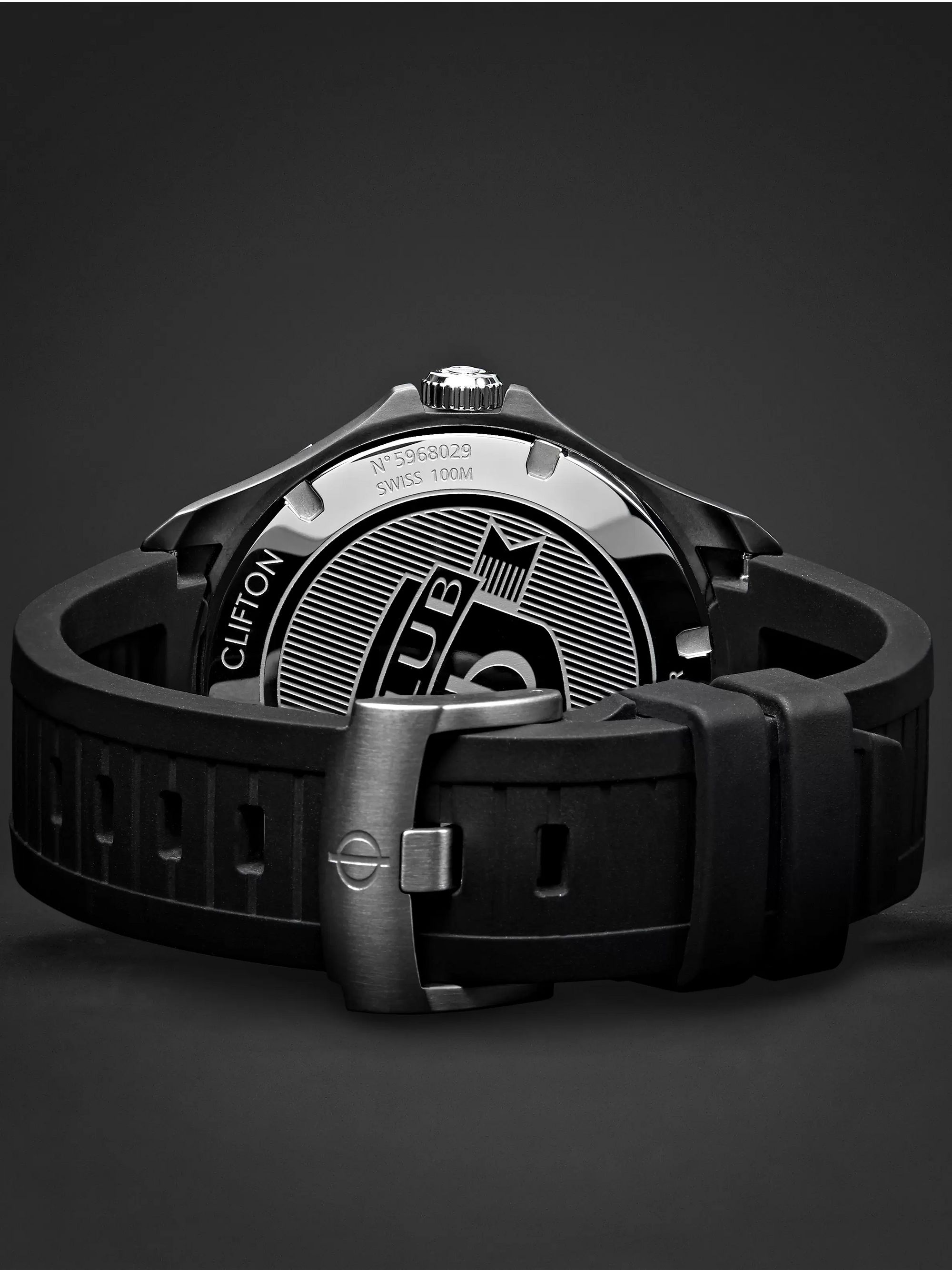 Baume & Mercier Clifton Club Automatic 42mm Stainless Steel and Vulcanised Rubber Watch