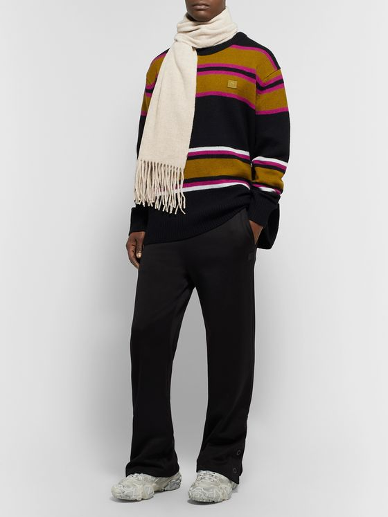 Acne Studios Fringed Wool Scarf