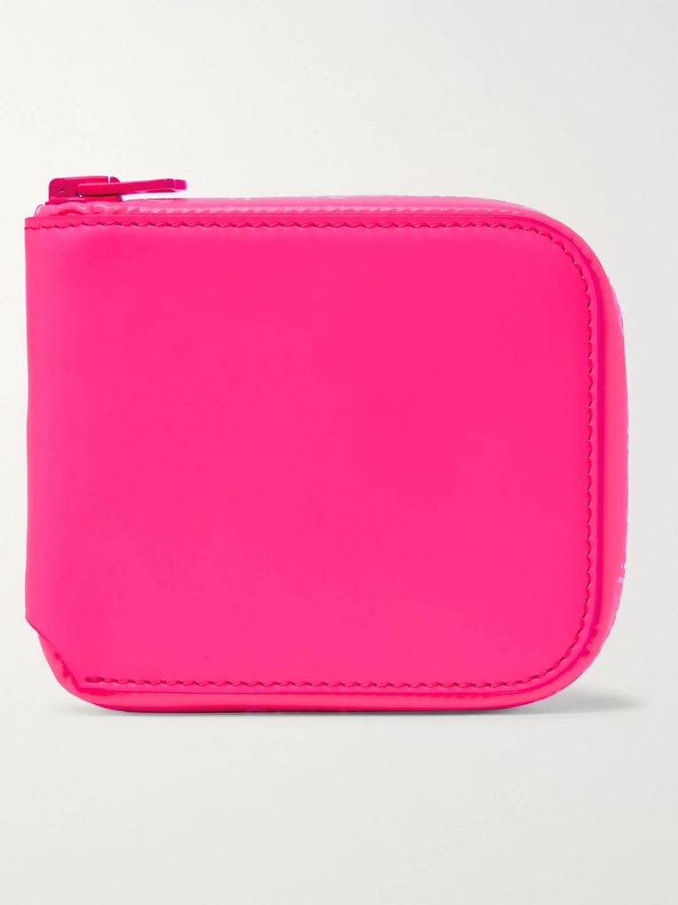 Acne Studios Kei Leather Zip-Around Wallet