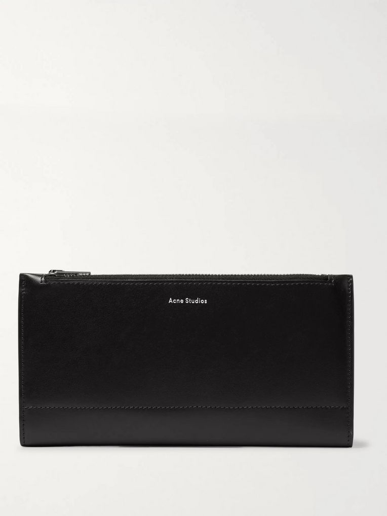 Acne Studios Leather Travel Wallet