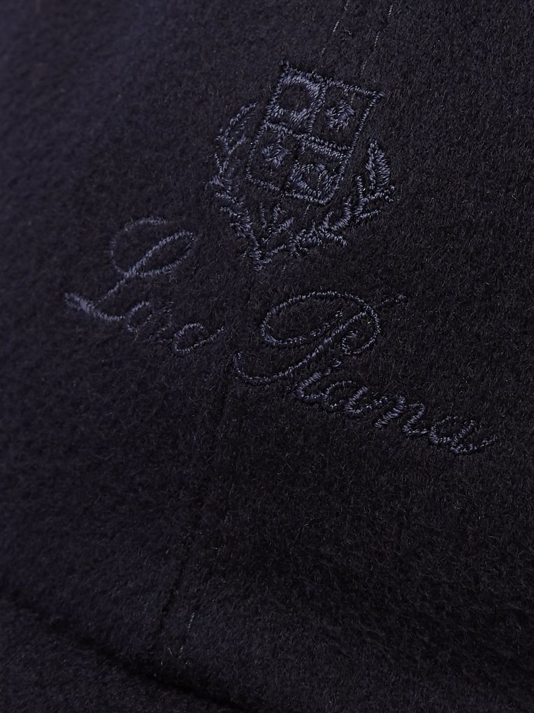 Loro Piana Logo-Embroidered Storm System Baby Cashmere Baseball Cap