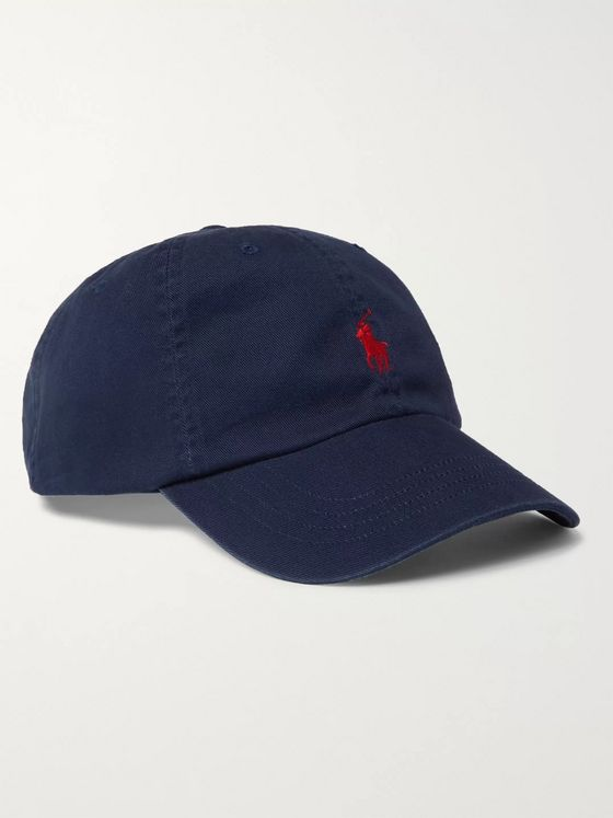 Polo Ralph Lauren Logo-Embroidered Cotton-Twill Baseball Cap