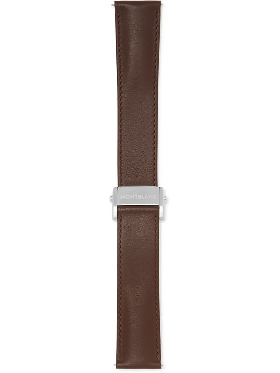 Montblanc Leather Watch Strap