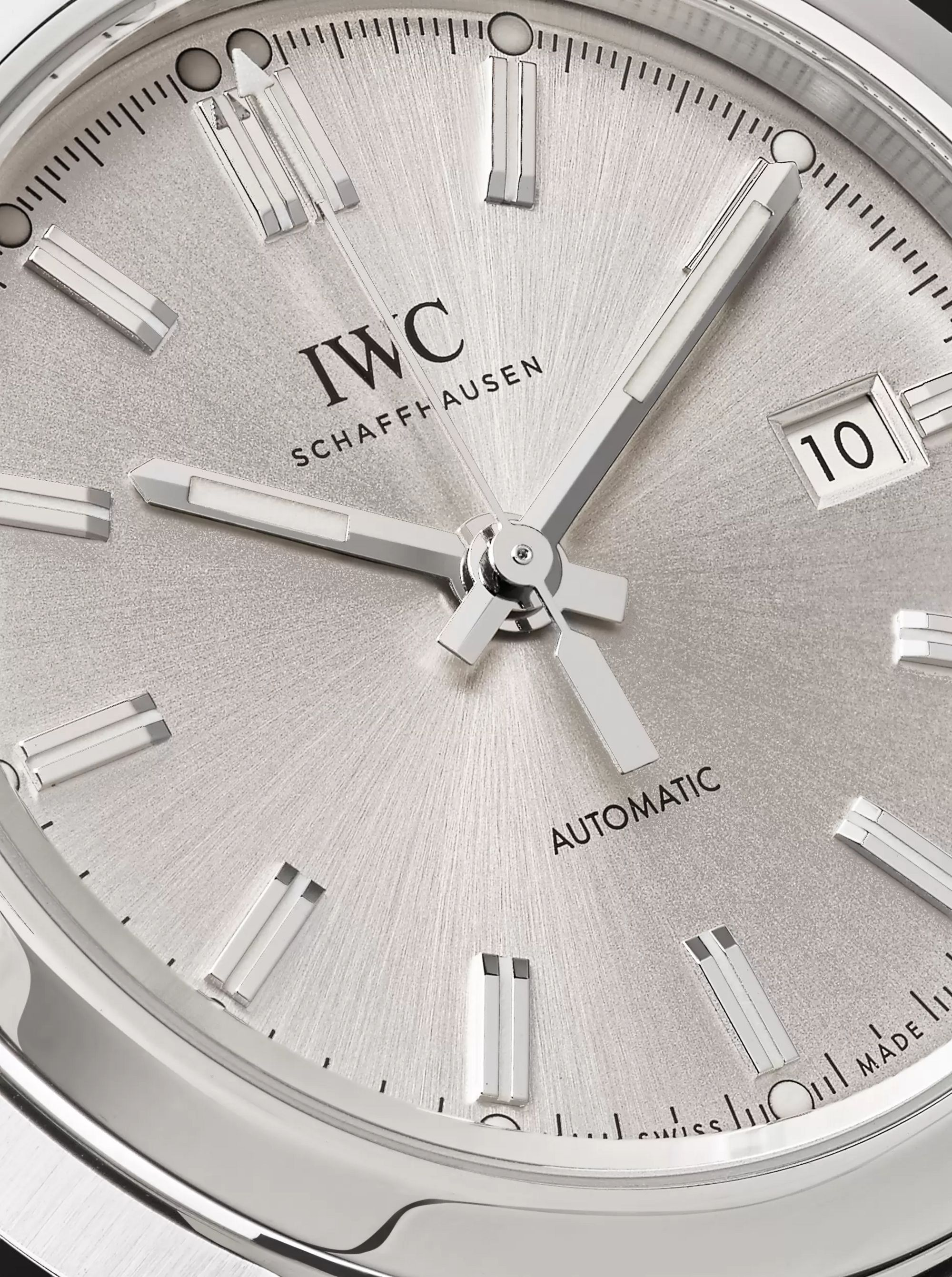 IWC SCHAFFHAUSEN Ingenieur Automatic 40mm Stainless Steel and Alligator Watch, Ref. No. IW357001