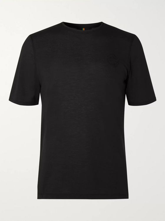 Iffley Road Cambrian Logo-Embroidered Drirelease Piqué T-shirt