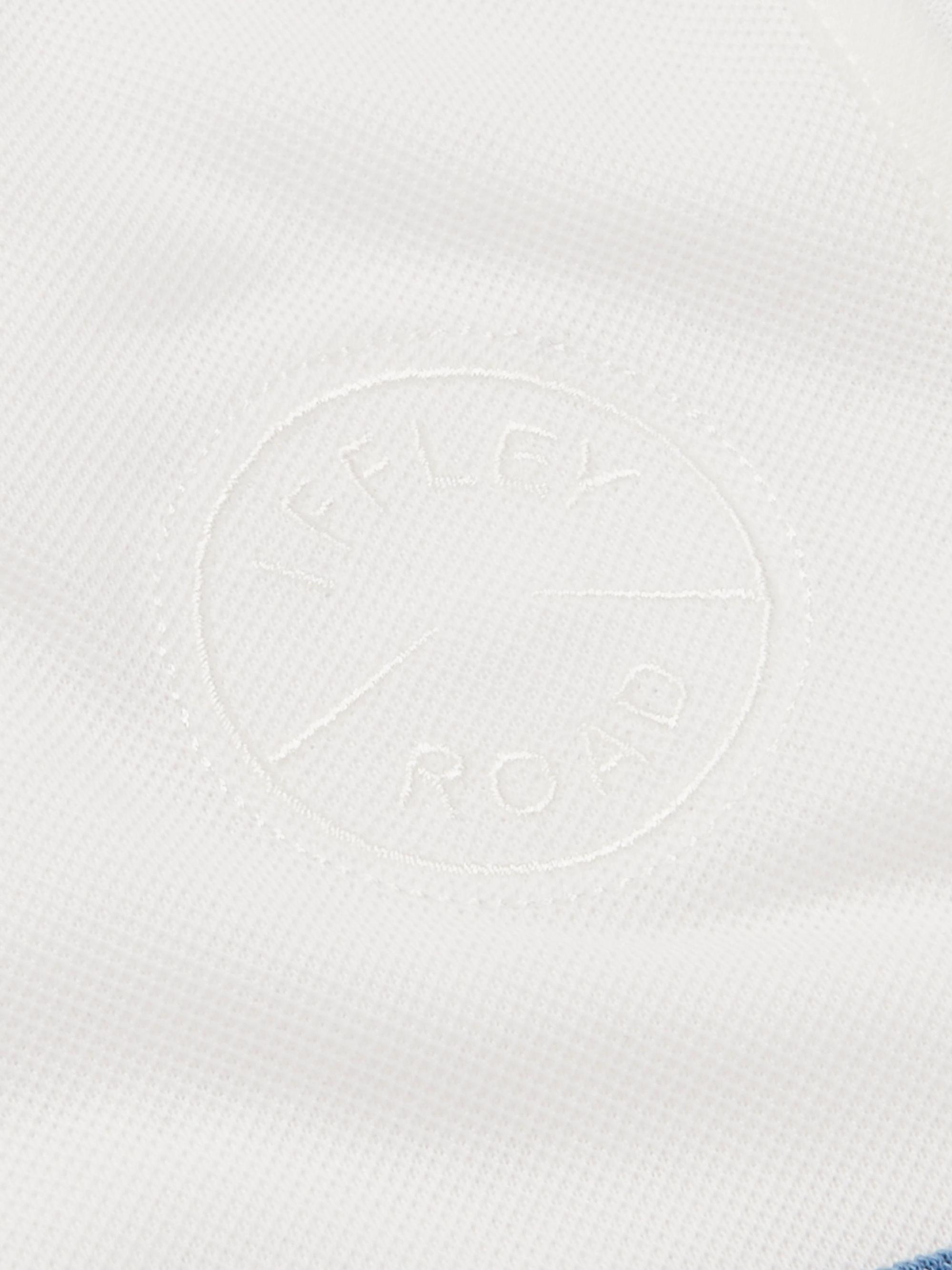Lancaster Slim-Fit Striped Drirelease Piqué Tank Top
