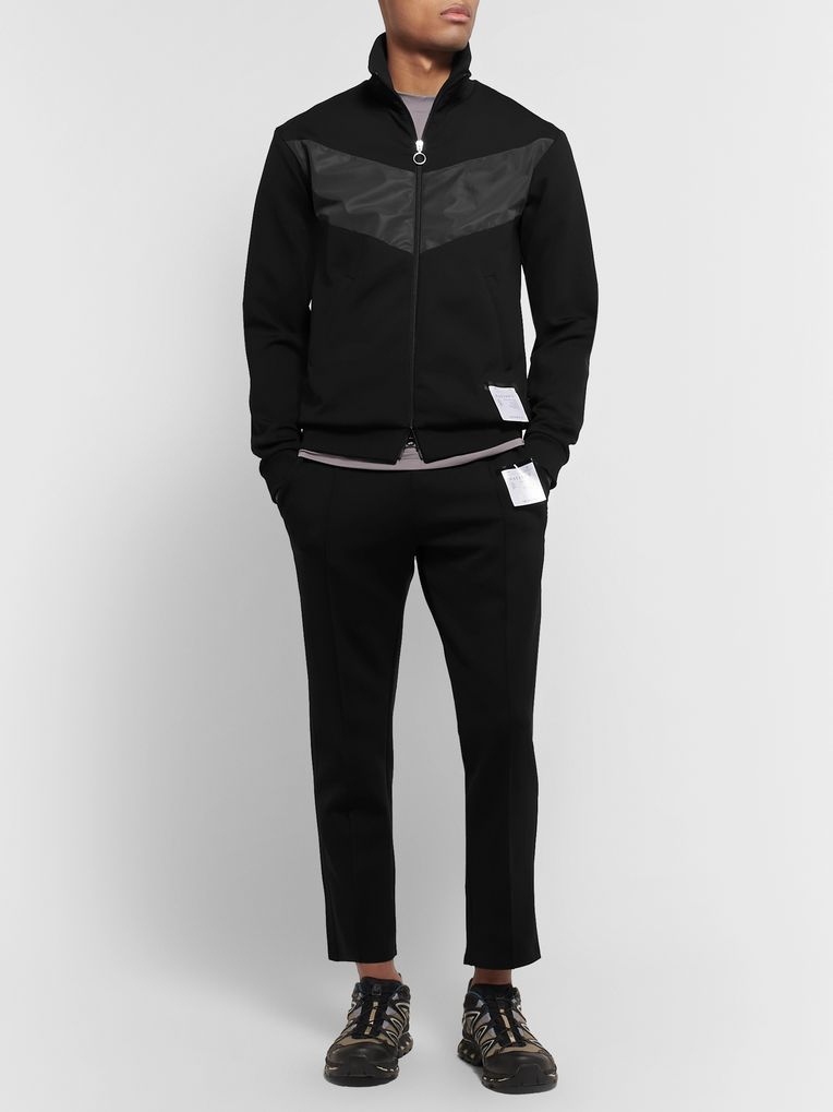 Satisfy Shell-Trimmed Tecnospacer Zip-Up Jacket