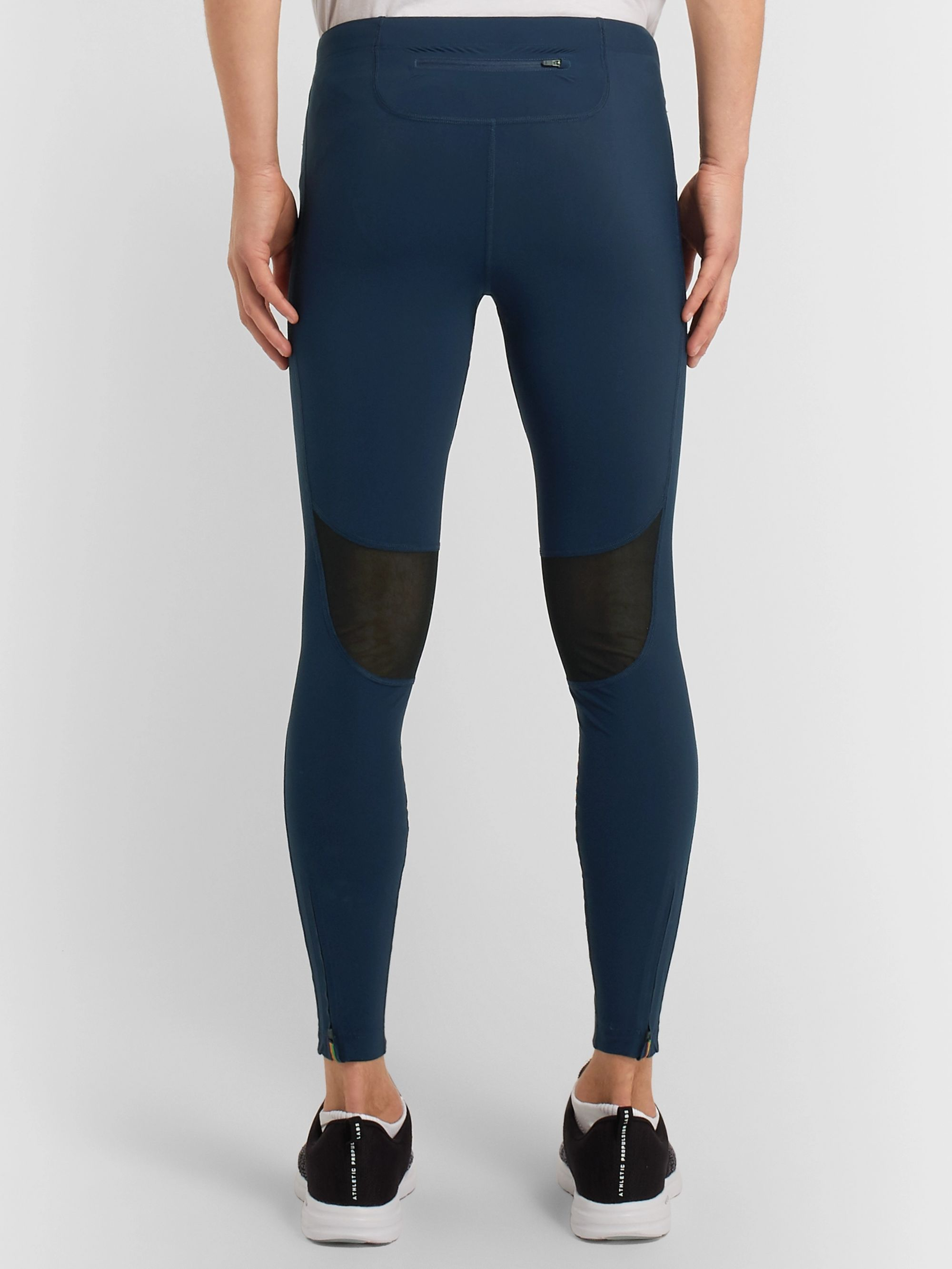 Iffley Road Windsor Stretch-Jersey Compression Tights
