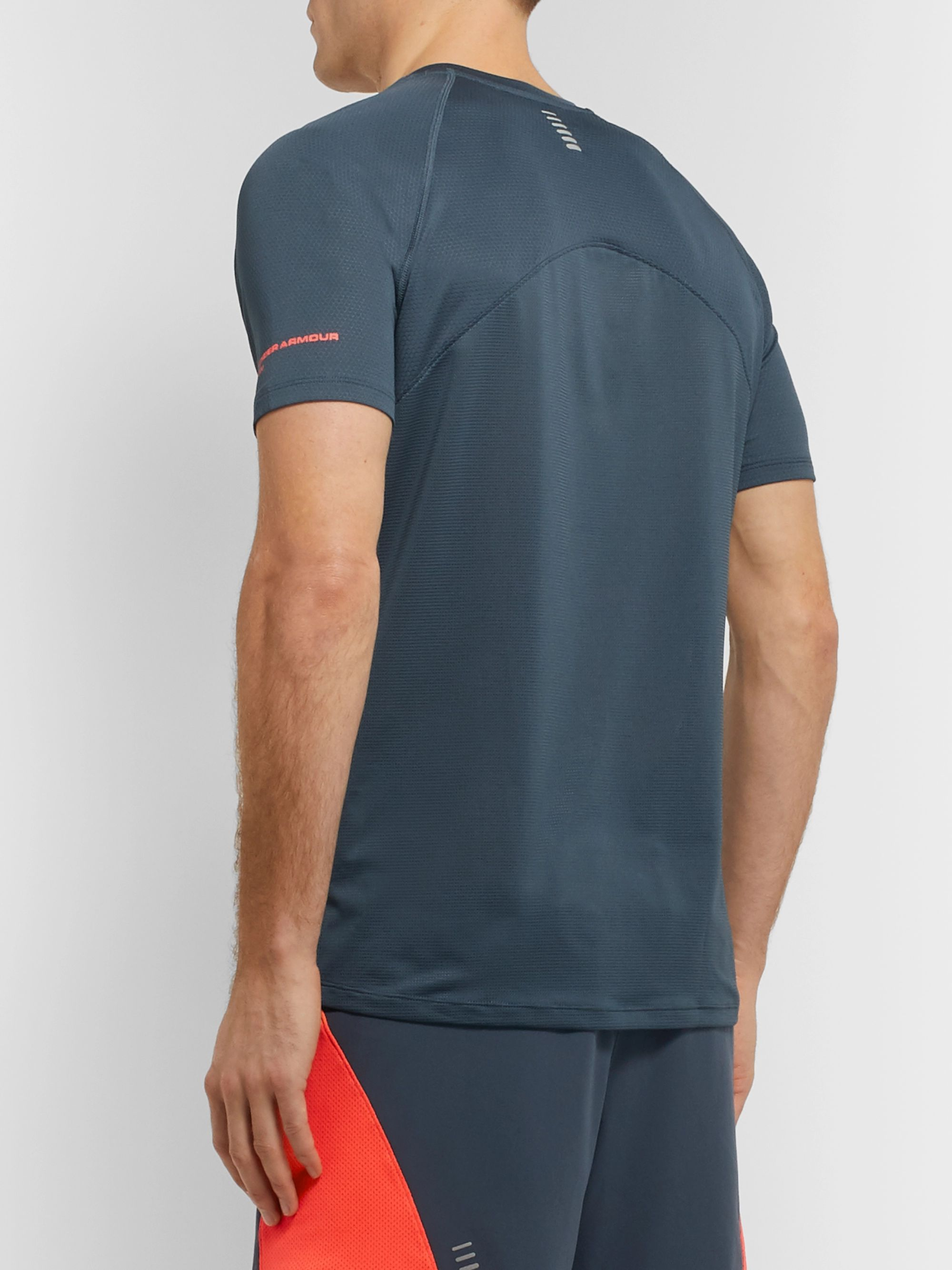 Under Armour UA Qualifier Stretch Tech-Jersey T-Shirt