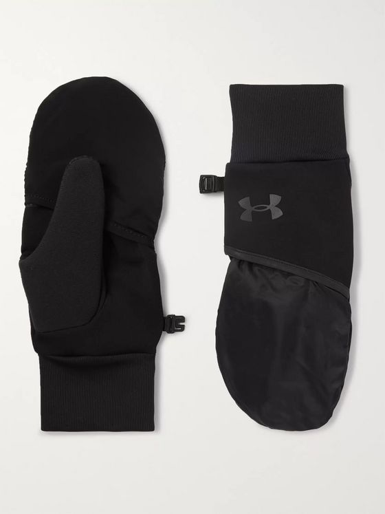 Under Armour UA Run Convertible Shell and Jersey Mittens