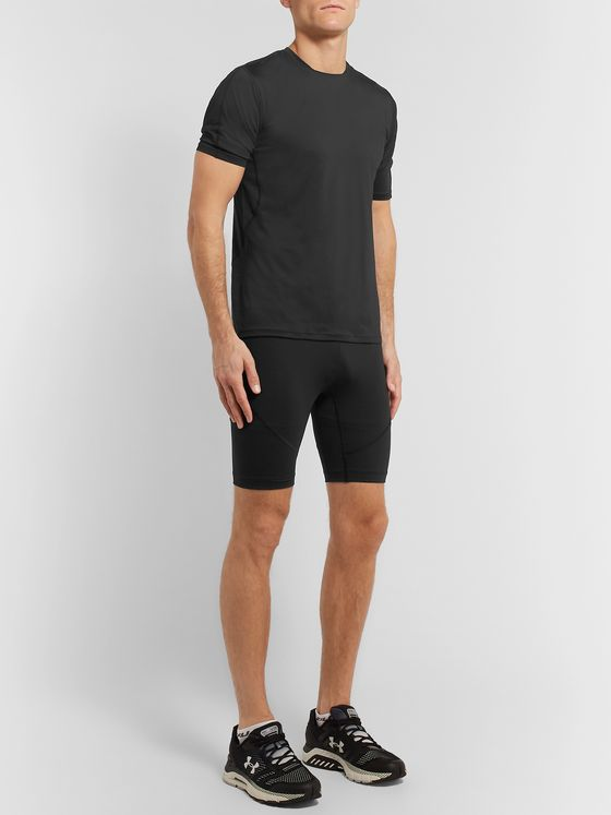 Under Armour UA Rush Run Stretch Tech-Jersey Compression Shorts