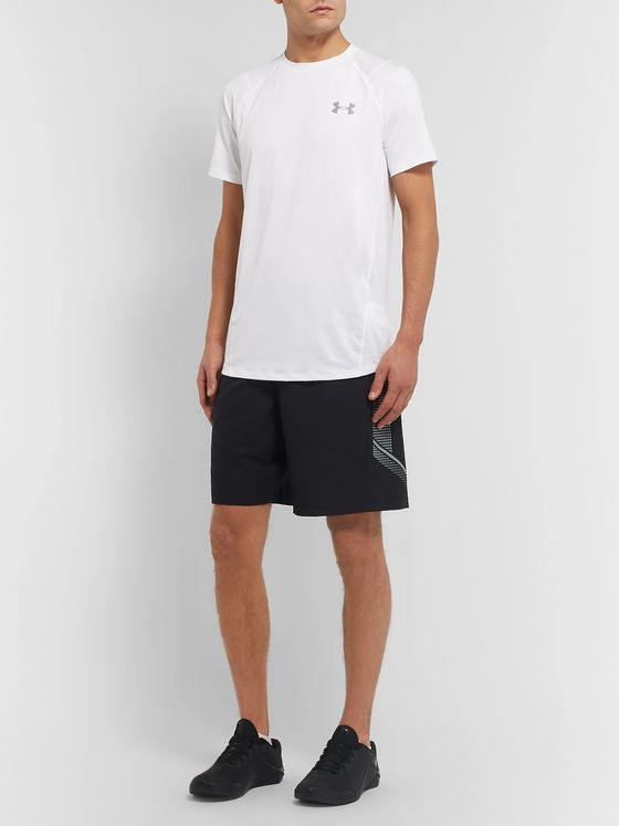Under Armour UA MK-1 Mesh-Panelled HeatGear T-Shirt