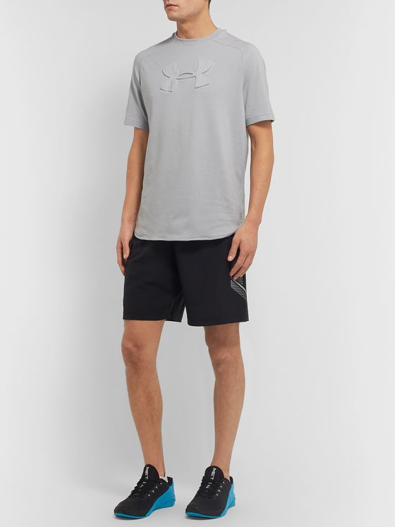 Under Armour Unstoppable Move Charged Cotton-Blend T-Shirt