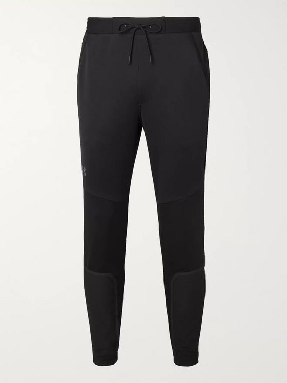 Under Armour Slim-Fit Tapered Perpetual Panelled Stretch Tech-Jersey Sweatpants