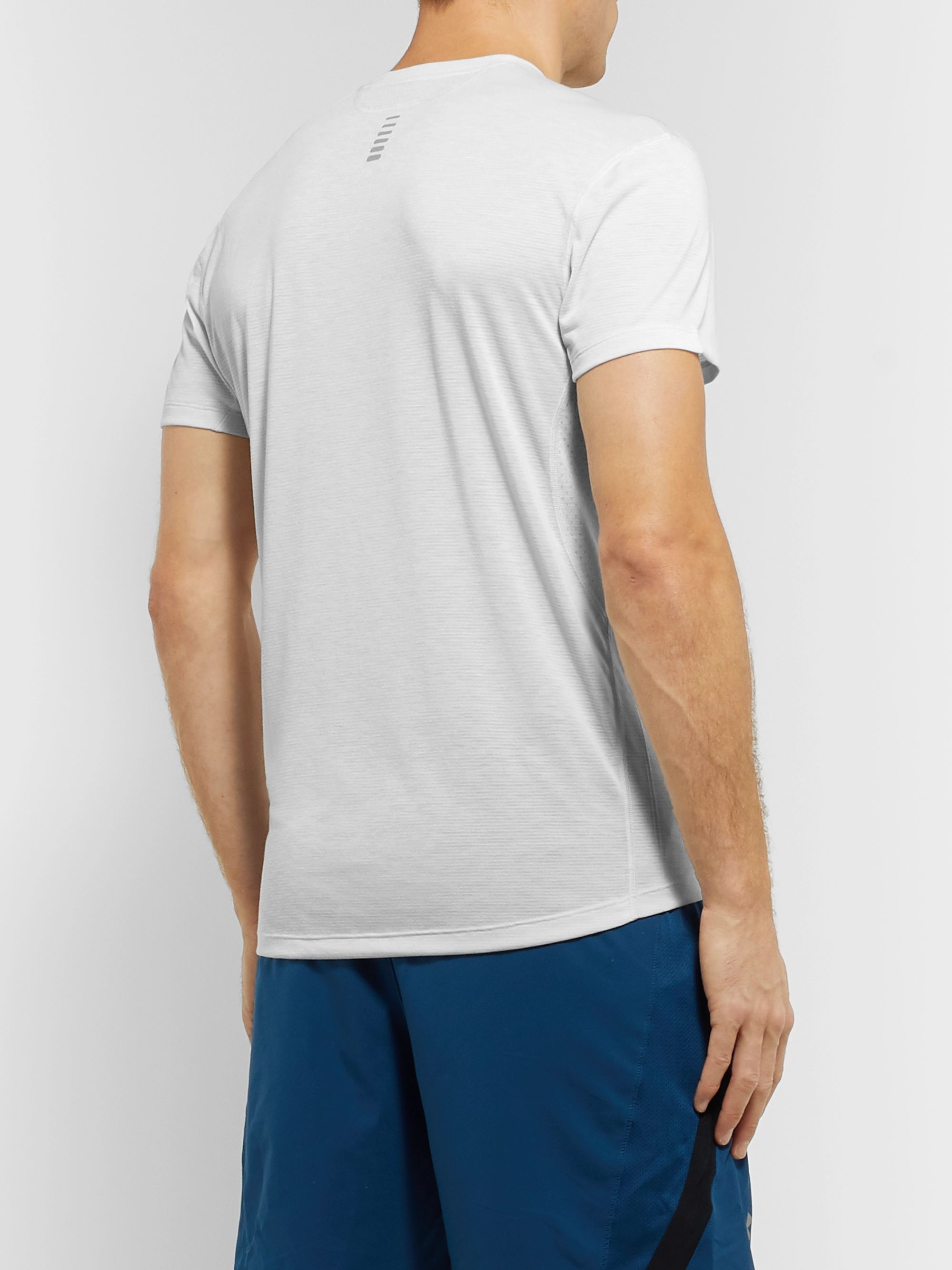 Under Armour UA Streaker Mesh-Panelled Microthread T-Shirt
