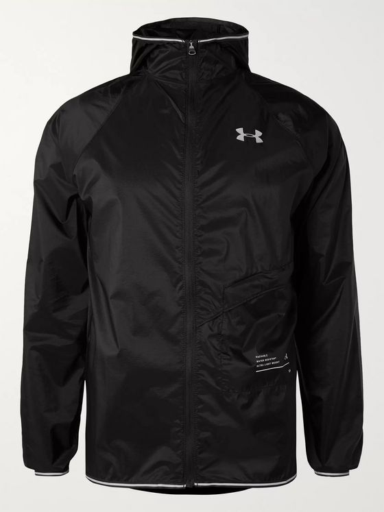 Under Armour UA Qualifier Storm Nylon Hooded Jacket