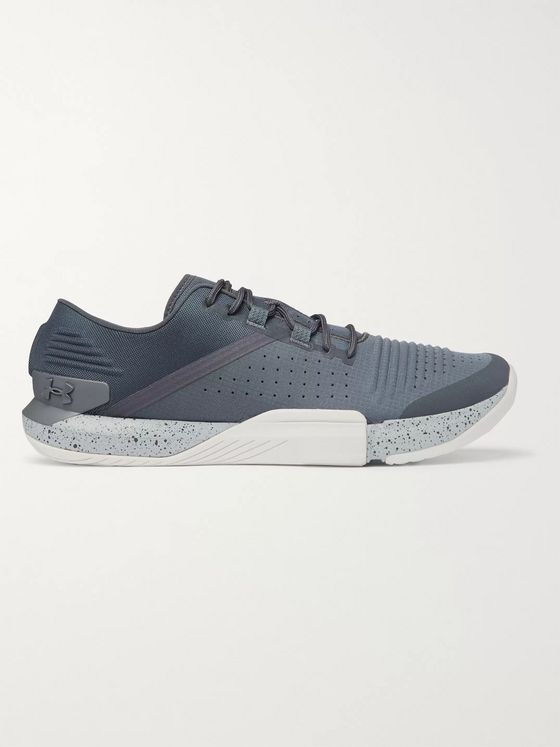 Under Armour UA TriBase Reign Mesh, Ripstop and Rubber Sneakers