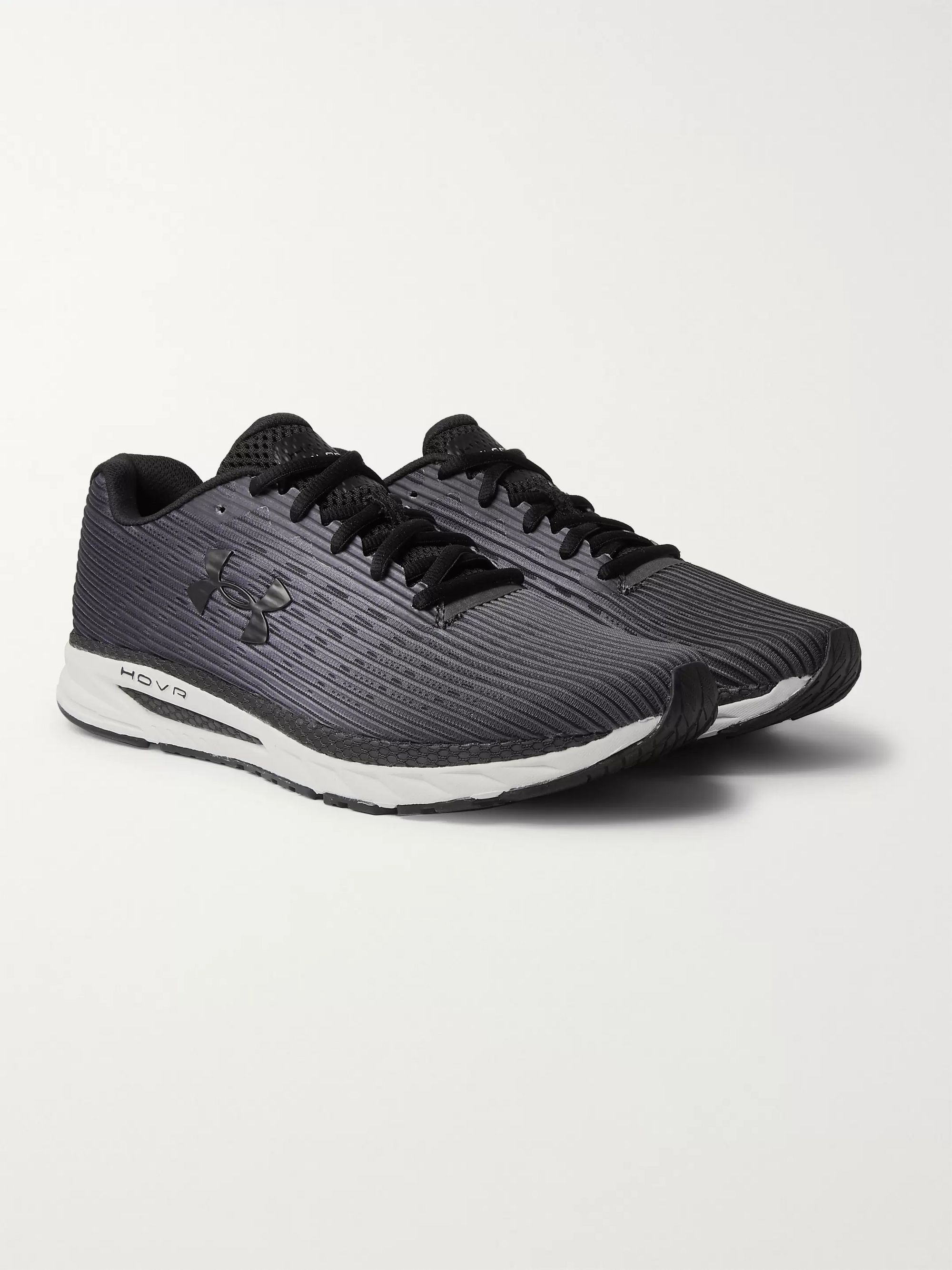 Under Armour UA HOVR Velociti 2 Mesh and Rubber Running Sneakers