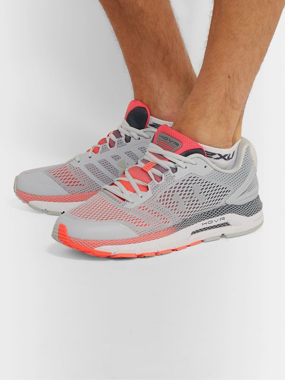 Under Armour UA HOVR Guardian Mesh and Rubber Running Sneakers