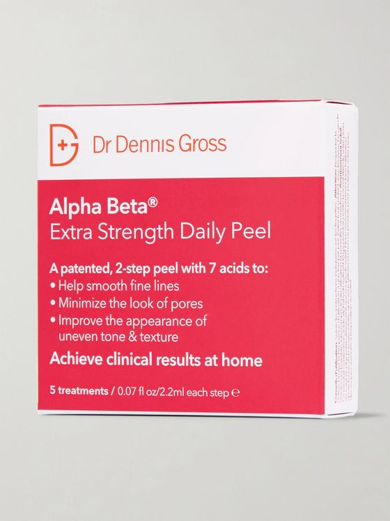 DR. DENNIS GROSS SKINCARE Alpha Beta Extra Strength Daily Peel, 5 x 2.2ml