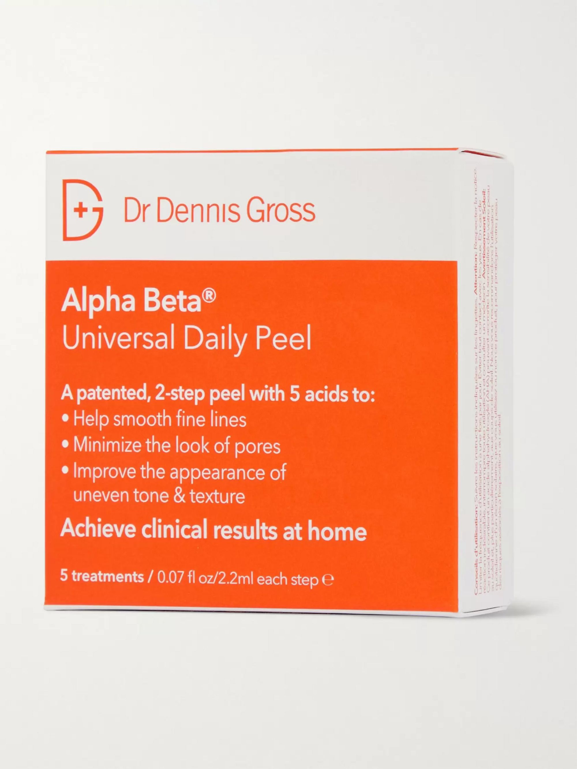 Dr. Dennis Gross Skincare Alpha Beta Universal Daily Peel, 5 x 2.2ml
