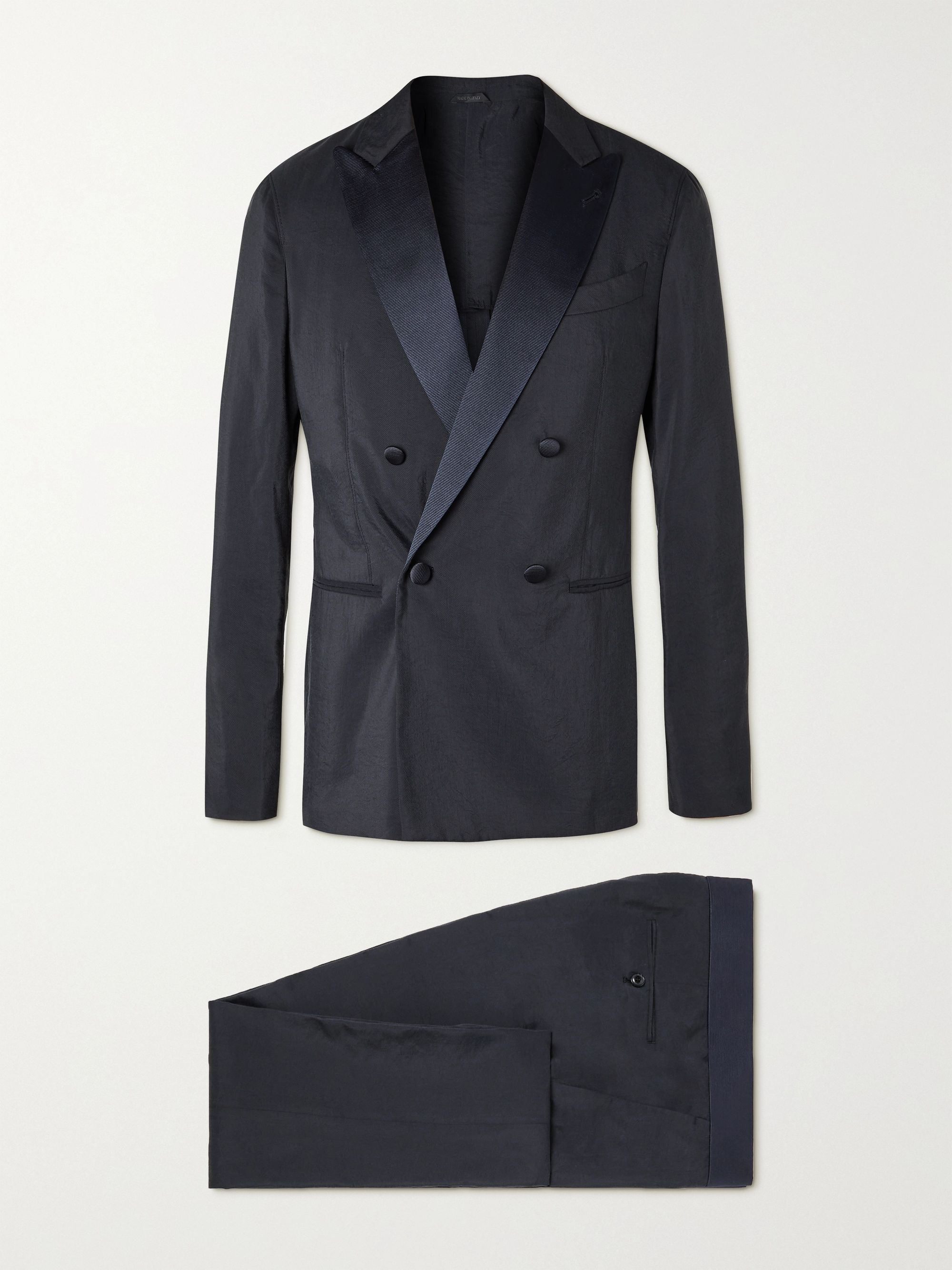 GIORGIO ARMANI Slim-Fit Silk-Blend Twill Suit