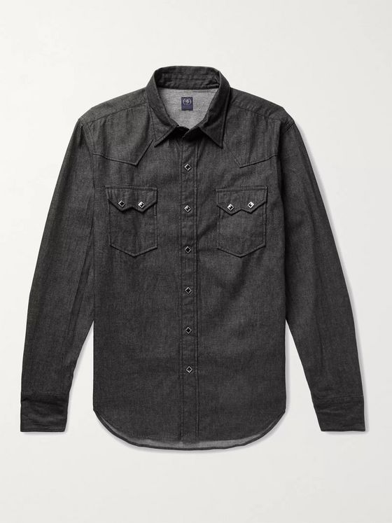 Beams F Denim Western Shirt