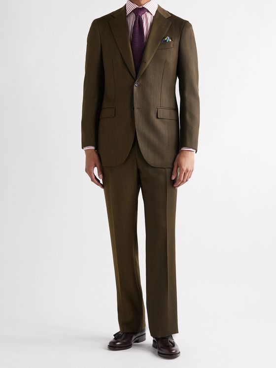 BEAMS F Slim-Fit Wool-Twill Suit Jacket