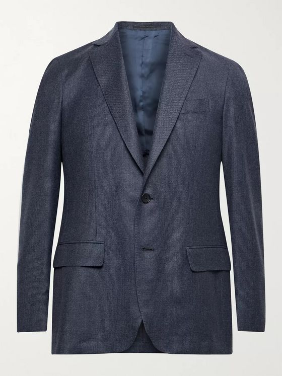 Sid Mashburn Kincaid No. 2 Slim-Fit Puppytooth Wool Blazer