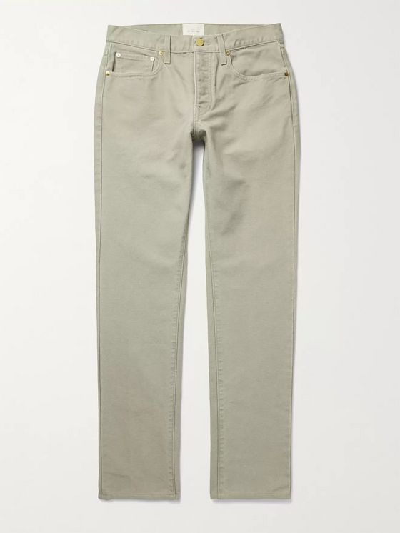 SID MASHBURN Cotton-Canvas Jeans
