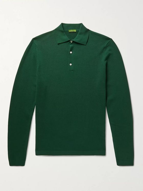 Sid Mashburn Cotton Polo Shirt