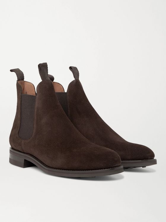 Sid Mashburn Suede Chelsea Boots
