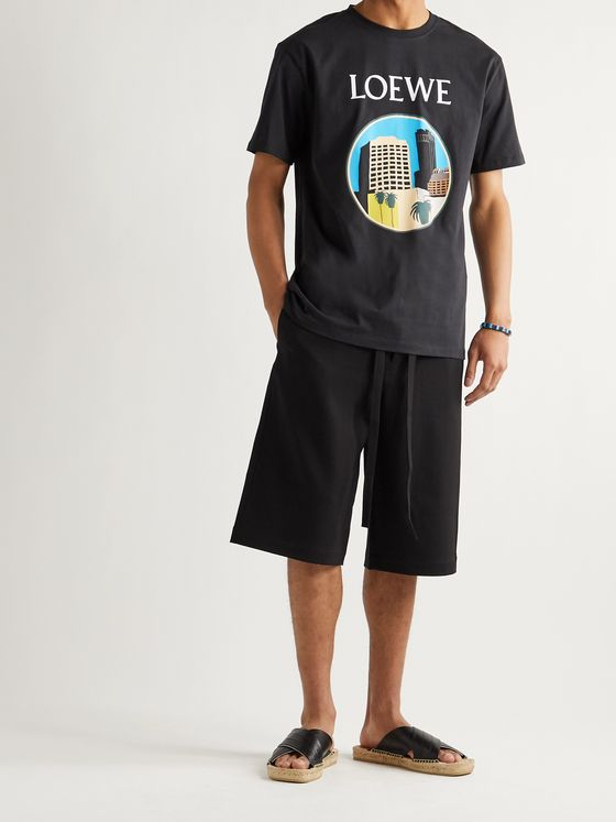 LOEWE + Ken Price L.A. Series Printed Cotton-Jersey T-Shirt